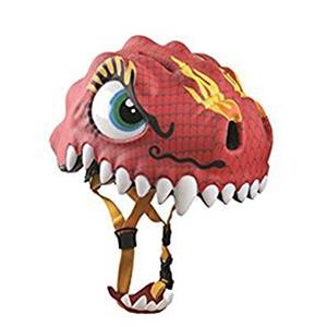 casco dragon rojo